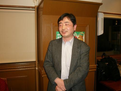 延辺大学元留学生のTさん<br /><br />朝鮮族研究学会の紹介をして下さいました。<br />http://www.askcj.net/<br />