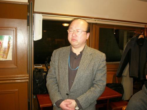 台湾に留学され中国語をマスターされた細木英夫さん<br /><br />延辺とも深い関係があるようでした。