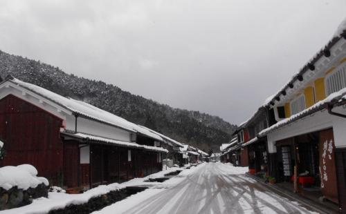 だぁれもいませんねぇ<br /><br />2007年10/7 <br />伝統的建造物群保存地区 熊川宿の様子<br />http://4travel.jp/traveler/hannari/album/10187342/