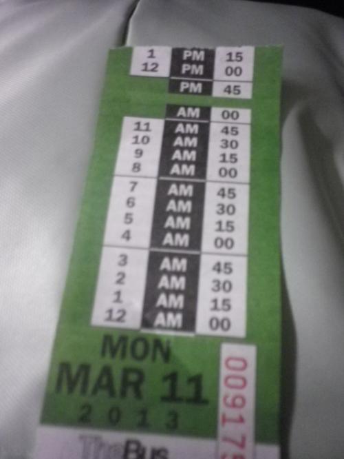 チケット<br /><br />トランスファーチケットを利用すれば<br />2時間以内の乗り換えができます。