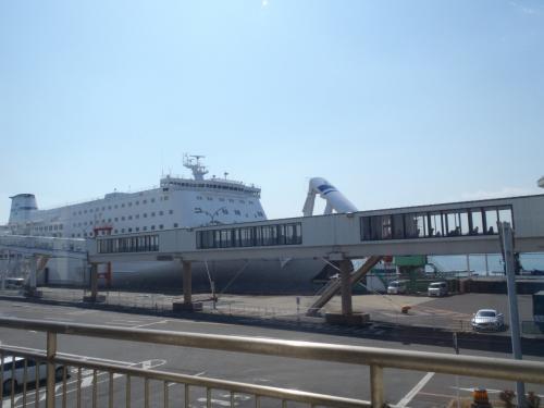 仙台港に入港。<br />さて、山形を目指しましょう!
