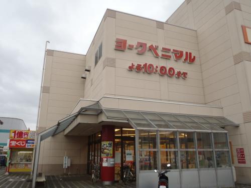 一旦お家へ帰って、買いたいものがあったのでスーパーへ。<br />ヨークベニマルだって〜。<br />イトーヨーカドー系列のスーパーでした。<br />
