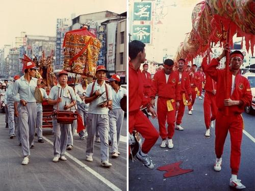 ★ちょっと昔の台湾 道教のシャーマンたち(1) 三鳳宮