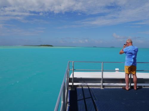 Bishops Aitutaki Lagoon Cruise <br />http://www.bishopscruises.com/