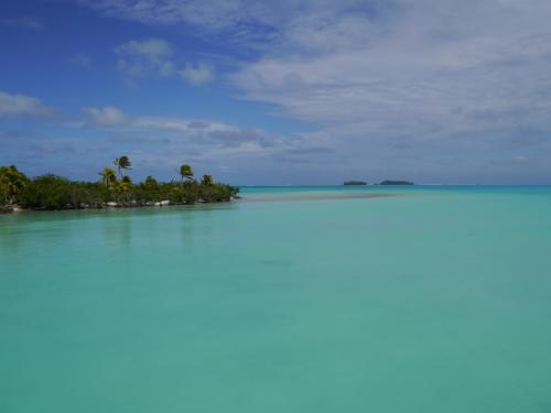 島の反対側へ歩いて・・・