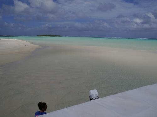 ヘブン<br />正確にはワンフット島から100mほど離れたサンドバンク<br /><br />
