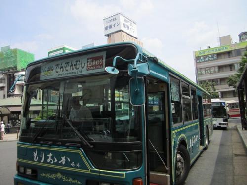 盛岡市内循環バス「でんでんむし号」