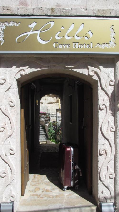 1時間足らずでギョレメのホテルに到着。横溝さんが共同経営者をしているヒルズ・ケイブホテルにチェックイン。