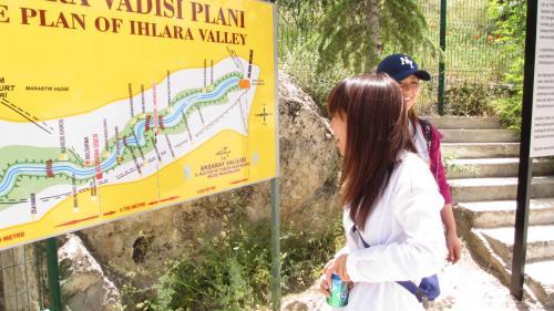 3.5キロほどのハイキングコースが整備されています。