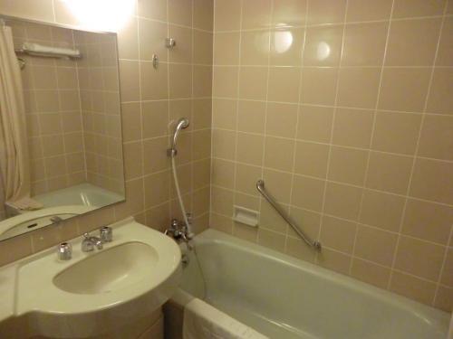バスルーム(写真)はほとんど使わない。<br />