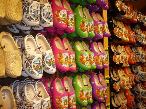 木靴がいっぱい!