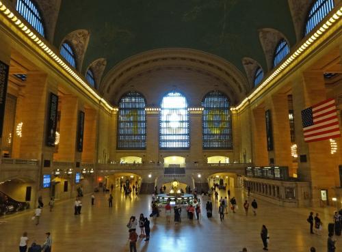 【グランド・セントラル・ターミナル】<br /><br />ニューヨークの大ターミナルの一つ<br /><br />この駅舎は,今年で100周年