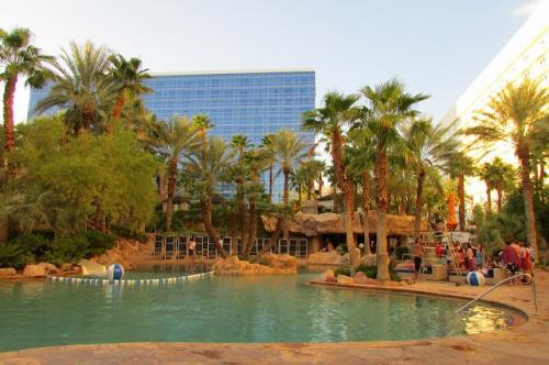 ハードロックカフェのホテル<br />プールもあります。