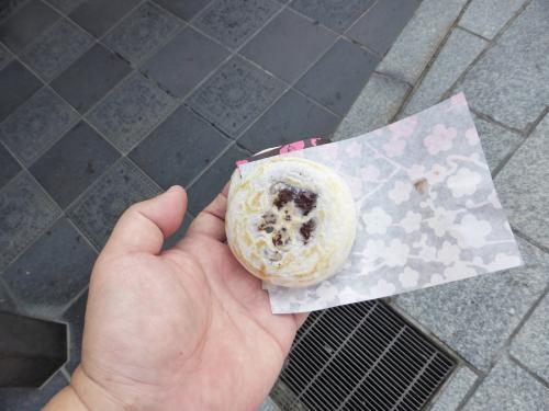 梅ヶ枝餅。