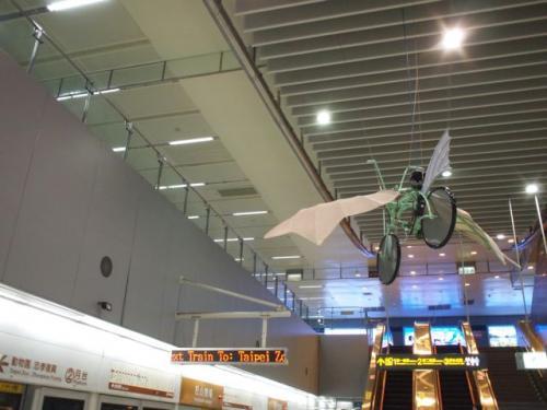 二駅先の松山機場駅。<br /><br />今回成田桃園なんでほんとは<br />用の無い駅なんですけど、