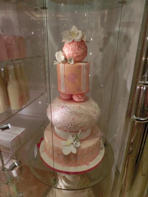 ジーンフィリップスのデコレーションケーキ
