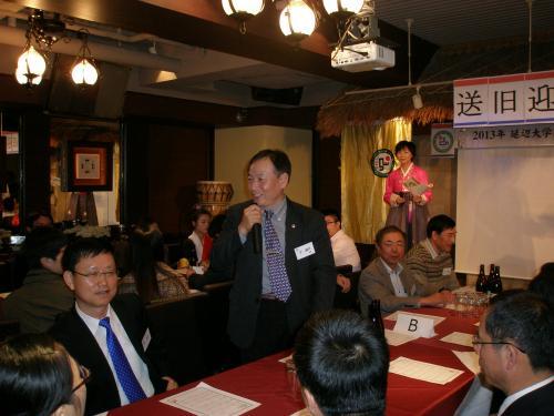 北陸大学の李鋼哲教授は朝鮮族研究学会の会長です。