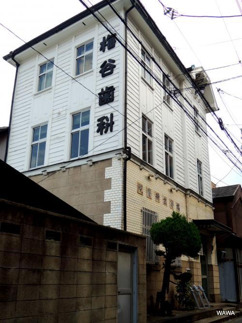 梅谷歯科医院は阪堺電車の松田町駅付近から天下茶屋駅に戻る途中の街並みです。