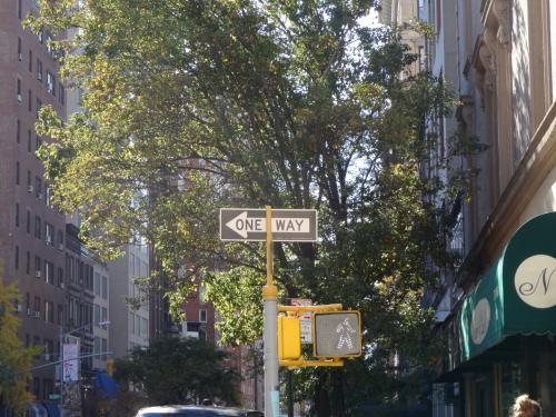 ニューヨークは一方通行がとにかく多いです?(゚Д゚)<br /><br />