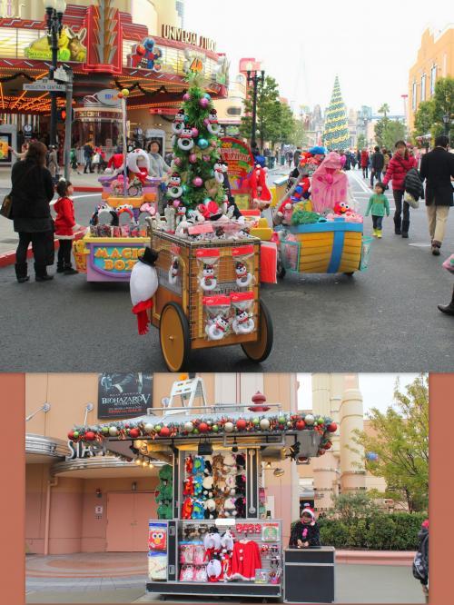 Xmas〜♪<br /><br />クリスマスらしくデコレーションされたワゴンが可愛い〜♪<br /><br /><br /> ≪ 見るもの全て 欲しくなっちゃう〜 (笑) ≫