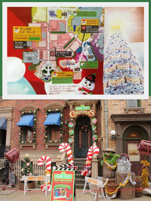 "<br />""SANTA AND CHRISTMAS""<br /><br />120cm以下の子供達 先着100名がパレードに参加出来る『サンタのトイ・マーチ』<br />(http://www.usj.co.jp/christmas2013/uwl.html#anc01)<br /><br />『サンタのクリスマス音楽会』<br /><br />『クリスマス・サンタ・ラリー』など、キッズ達も十分に楽しめるイベントも沢山用意されています<br /><br />下の写真は『セサミストリート・フォト・オポチュニティ〜クリスマスバージョン〜』<br /><br />こちらは、大人も参加可能です(^^"