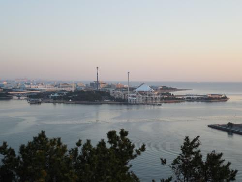 八景島を少しアップします。