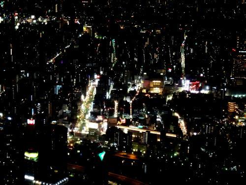 東京を360度見ることができます。