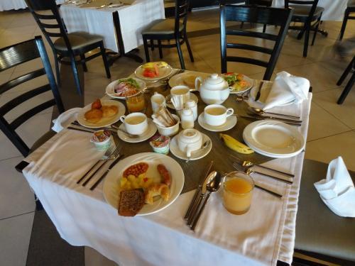 ホテルの朝食<br /><br />ビュッフェ形式でした。