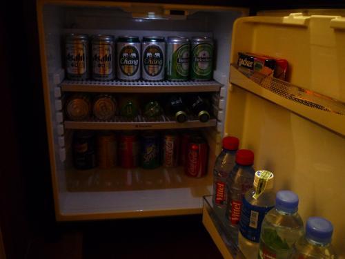 冷蔵庫内の様子。