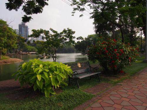 ルンピニ公園<br />Lumphini Park