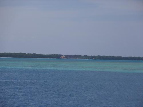 ココス島も近くに見えます。