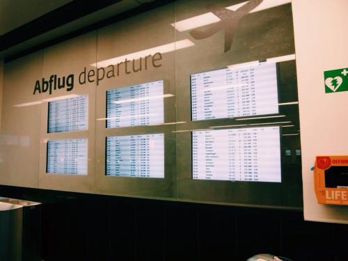 ウィーンからパリへ2時間のフライト!