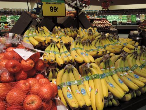 北極圏ドライブに行く時のおやつにこのバナナを買いました。