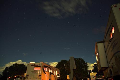 夜はグランドキャニオン内のRVパークに宿泊!ツアーでは来れない最高のロケーションでした。翌朝の日の出にも余裕で間に合っちゃいます笑