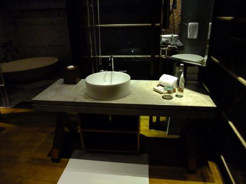 洗面台も1つ1つゆとりあります。