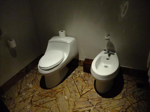 お手洗いも広々です。