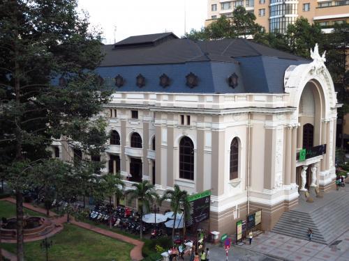 ○ オペラハウス<br /><br />部屋から見えるオペラハウス。