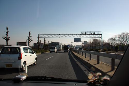 京都から大阪への渋滞も無く、守口線で少し支えていましたが、神戸線はスイスイ。