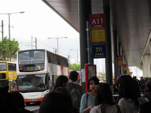 今回は昼間の到着で時間に余裕もあるので、空港バスにてホテルへ移動