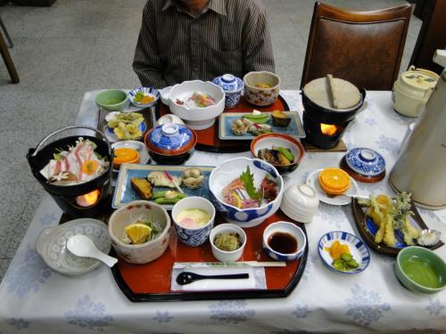 屋久島。大和温泉ホテルの夕食