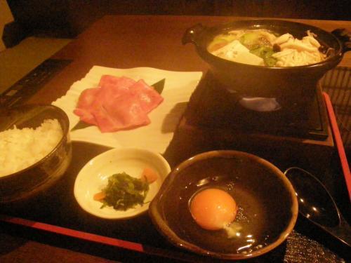 米沢 <br /><br />べこや<br /><br />米沢牛のすき焼き