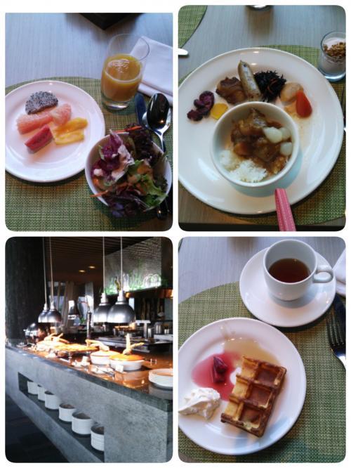 3日目の朝を迎えました!!<br />朝食を付けるだけで2,000円アップするので悩んでいましたが(^_^;)<br />ここのサイトで徒歩圏内に食べに行けるお店は皆無と教えて頂き付けた朝食です♪