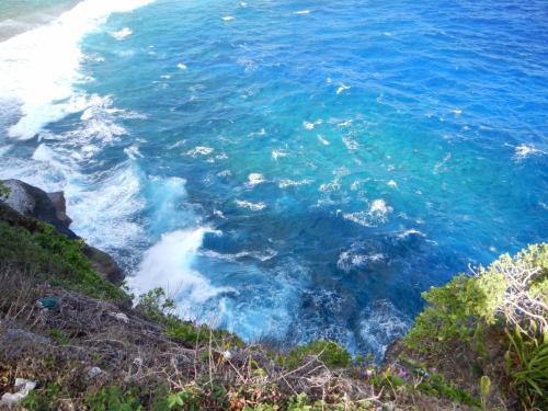 ここも海がきれいでした。