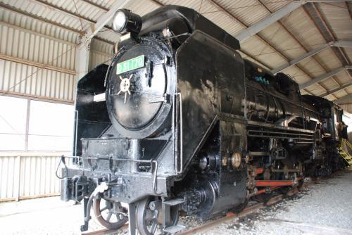 D51<br /><br />デゴイチがSL展示館に綺麗な状態で保存されています。<br />これから列車は矢岳をトンネルで抜け、真幸へ向かいます。