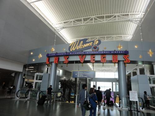 ラスベガス空港です。
