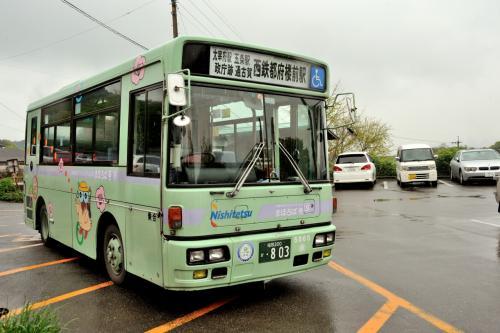 このバスです。<br /><br />思いの他 便利だわぁ〜( ´∀`)