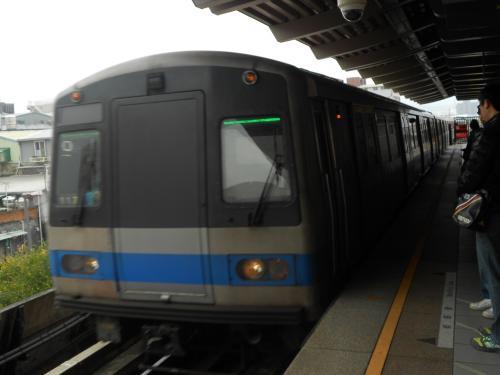 これが、台北の地下鉄<br />
