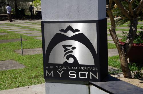 ホイアンの中心から40分あまりで、ミーソン遺跡に到着