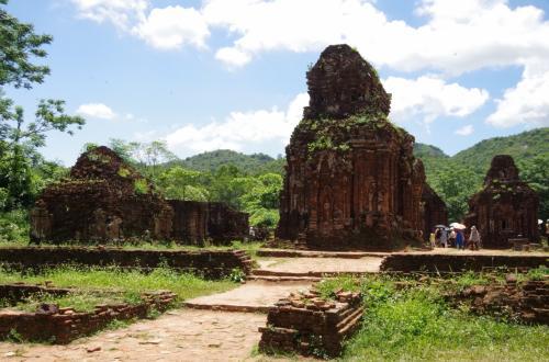 もっとも寺院が集中して、きれいな状態で残っているエリアが、B、C、D群です。