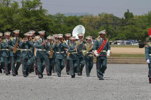 伊丹の第3師団か楽団も登場、